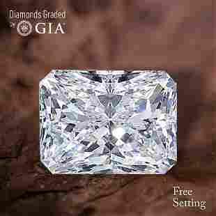150 ct Color GVS1 Radiant cut Diamond 43 Off Rap