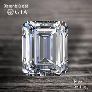 150 ct Color HVS2 Emerald cut Diamond 47 Off Rap