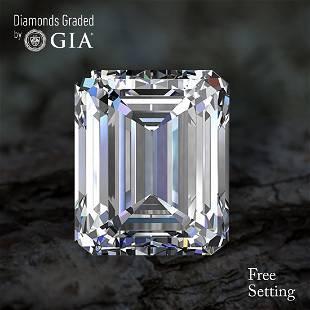 201 ct Color HVS1 Emerald cut Diamond 47 Off Rap