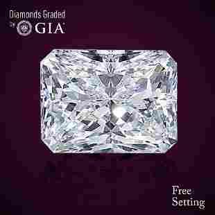 301 ct Color FVS1 Radiant cut Diamond 47 Off Rap