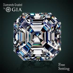 1261 ct Color GVVS1 Sq Emerald cut Diamond 72 Off