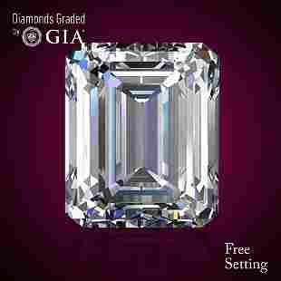 451 ct Color EVVS2 Emerald cut Diamond 48 Off Rap