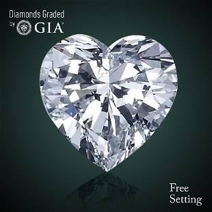 501 ct Color EVS2 Heart cut Diamond 43 Off Rap