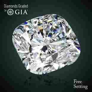 402 ct Color FVS2 Cushion cut Diamond 61 Off Rap