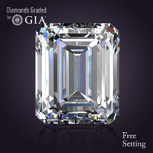 501 ct Color IVS1 Emerald cut Diamond 42 Off Rap