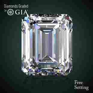 501 ct Color IVVS2 Emerald cut Diamond 46 Off Rap
