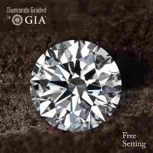 106 ct Color DVVS2 Round cut Diamond 55 Off Rap