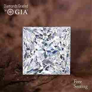 101 ct Color IVVS1 Princess cut Diamond 47 Off Rap
