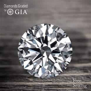 100 ct Color GVVS2 Round cut Diamond 46 Off Rap