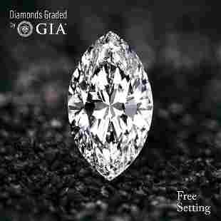 101 ct Color DVVS2 Marquise cut Diamond 53 Off Rap