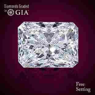 401 ct Color FVS1 Radiant cut Diamond 54 Off Rap