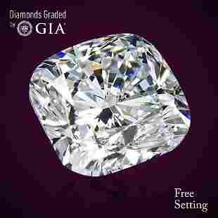 509 ct Color FVS1 Cushion cut Diamond 46 Off Rap