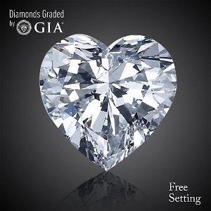 14.01 ct, Color D/VS1, Heart cut Diamond 42% Off Rap