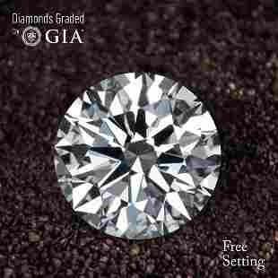 101 ct Color HVVS1 Round cut Diamond 44 Off Rap