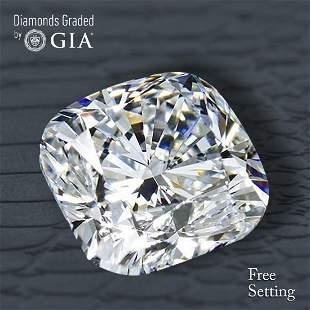 101 ct Color IVS2 Cushion cut Diamond 52 Off Rap