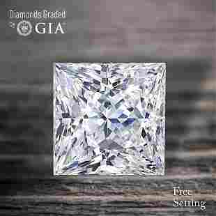 100 ct Color IVS1 Princess cut Diamond 48 Off Rap
