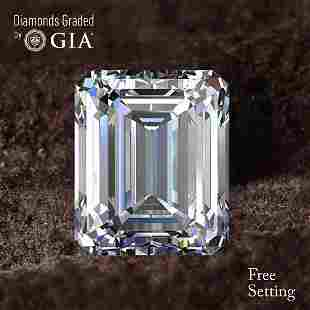 150 ct Color FVVS2 Emerald cut Diamond 52 Off Rap