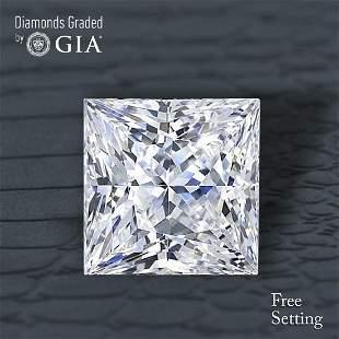 201 ct Color GVVS1 Princess cut Diamond 48 Off Rap
