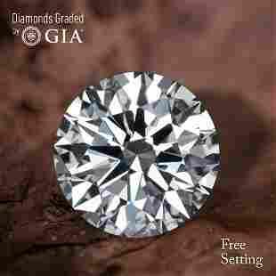 154 ct Color HVVS1 Round cut Diamond 44 Off Rap