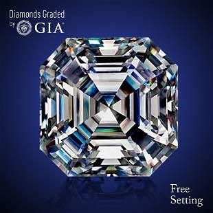150 ct Color FVVS1 Sq Emerald cut Diamond 46 Off
