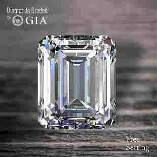 121 ct Color GIF Emerald cut Diamond 46 Off Rap