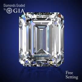 2.01 ct, Color E/VS1, Emerald cut Diamond 46% Off Rap