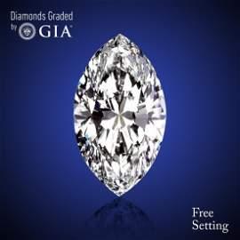 7.01 ct, Color E/VVS2, Marquise cut Diamond 60% Off Rap