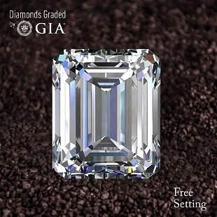 101 ct Color HVVS2 Emerald cut Diamond 49 Off Rap