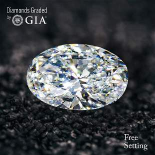 101 ct Color DVVS1 Oval cut Diamond 60 Off Rap