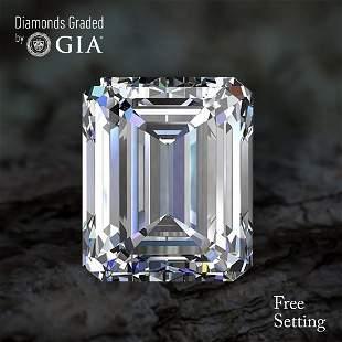 100 ct Color HIF Emerald cut Diamond 50 Off Rap