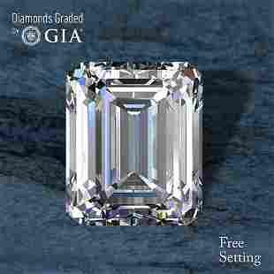 100 ct Color EVVS1 Emerald cut Diamond 57 Off Rap