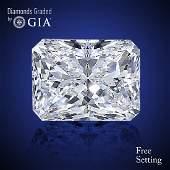 2.60 ct, Color E/VS2, Radiant cut Diamond 41% Off Rap