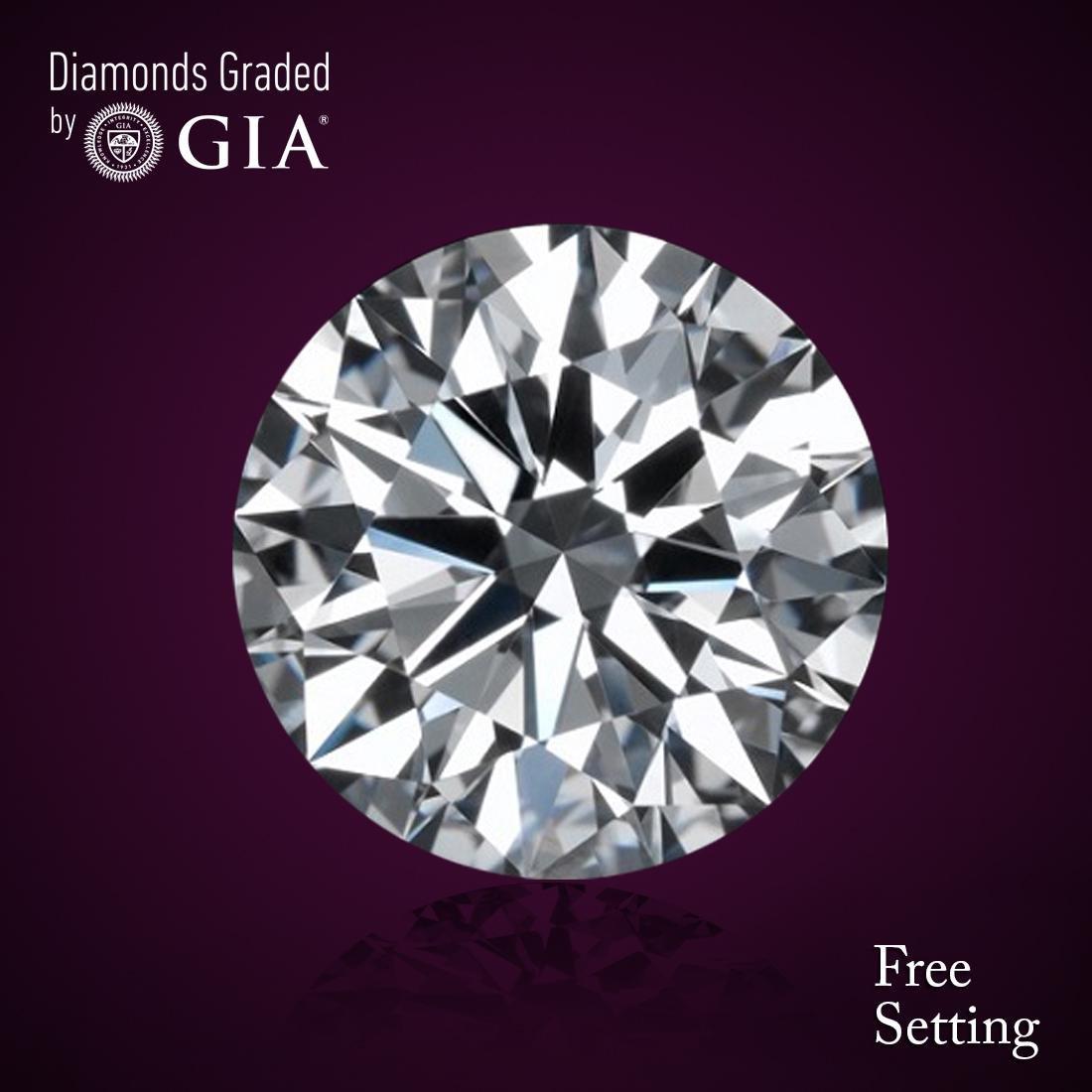 3.40 ct, Color G/VS2, Round cut Diamond 44% Off Rap