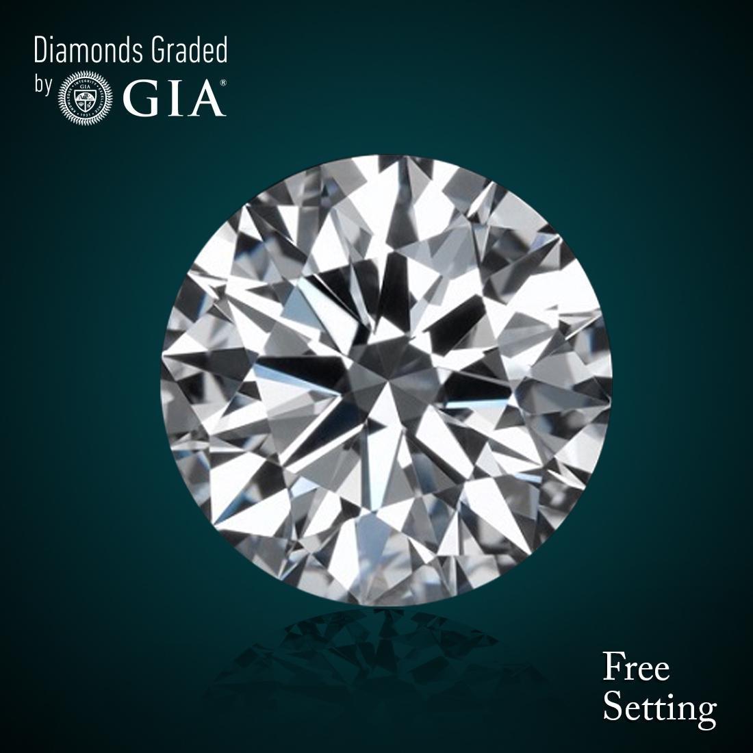 3.18 ct, Color D/FL, Round cut Diamond 45% Off Rap