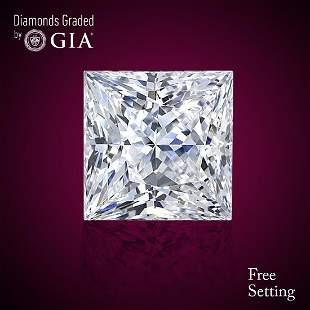 302 ct Color IVVS2 Princess cut Diamond 50 Off Rap