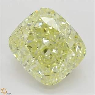 360 ct YellowVVS2 Cushion cut Diamond
