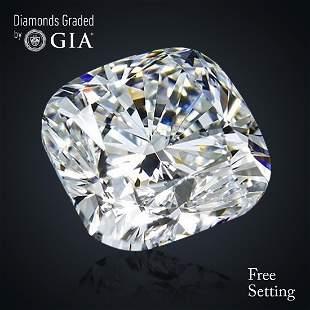 281 ct Color EIF Cushion cut Diamond 38 Off Rap