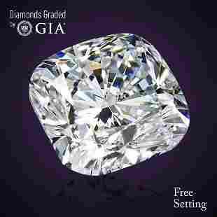 302 ct Color FIF Cushion cut Diamond 61 Off Rap