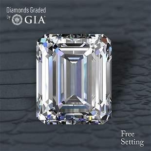 5.03 ct, Color E/VS2, Emerald cut Diamond