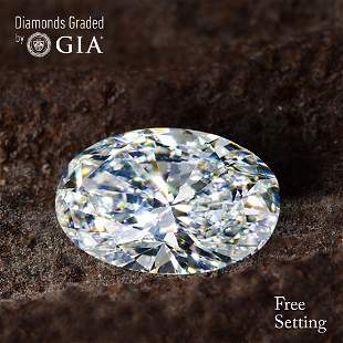 350 ct Color FVS2 Oval cut Diamond