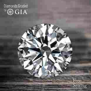 1171 ct Color EVVS1 Round cut Diamond