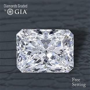 505 ct Color IVVS2 Radiant cut Diamond