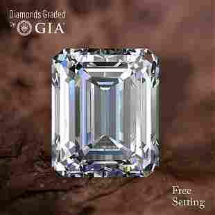 501 ct Color DVS1 Emerald cut Diamond
