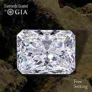 307 ct Color FVVS2 Radiant cut Diamond