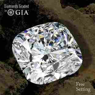 301 ct Color GVVS2 Cushion cut Diamond