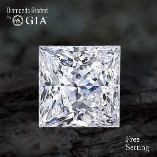 1003 ct Color IVS1 Princess cut Diamond
