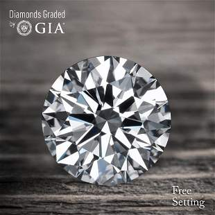 401 ct Color GIF Round cut Diamond