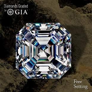 300 ct Color FVS2 Sq Emerald cut Diamond