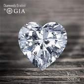 14.01 ct, Color D/VS1, Heart cut Diamond