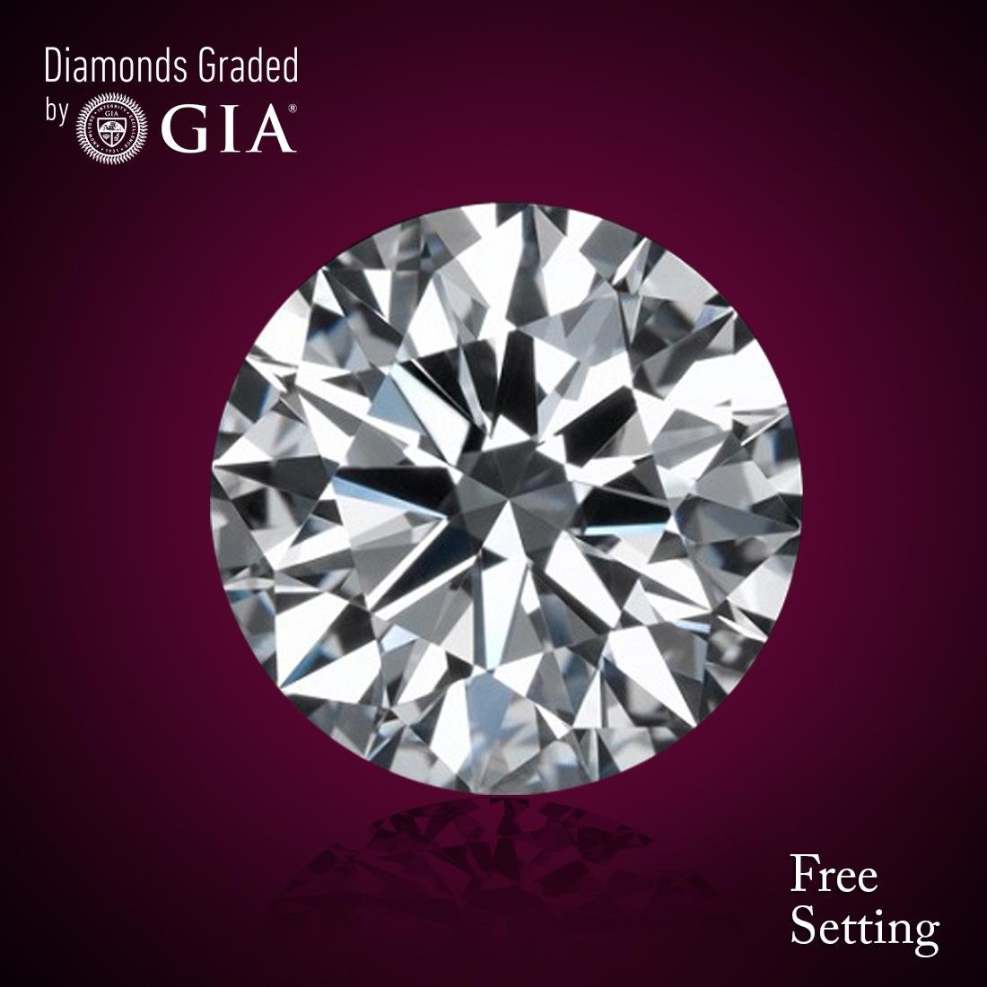 2.02 ct, Color E/VS2, Round cut Diamond